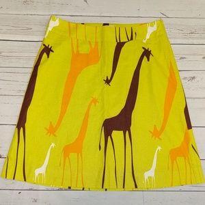 Marimekko for Anthropologie giraffe skirt 2